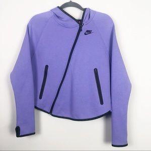 Nike | Purple Zip Hoodie